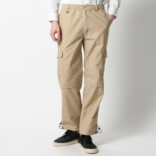 パンツ メンズ ズボン メンズ 微起毛素材カーゴパンツ 「ベージュ」