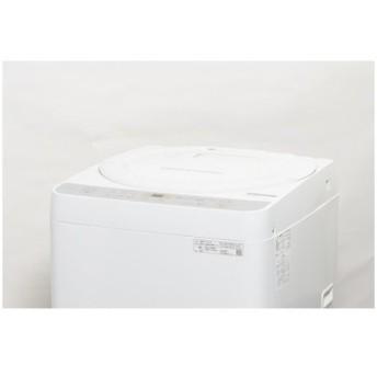 SHARP 全自動洗濯機 6.0kg ES-GE6C 2019年製 【中古】【一人暮らし】【佐川急便240サイズ】
