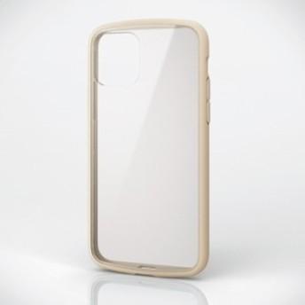 iPhone 11 Pro 5.8inch/TOUGH SLIM LITE/フレームカラー/アイボリー エレコム PM-A19BTSLFCIV