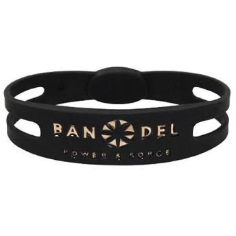 BANDEL(バンデル) ブレスレット メタリック ブラック×ゴールド Lサイズ:19.0cm