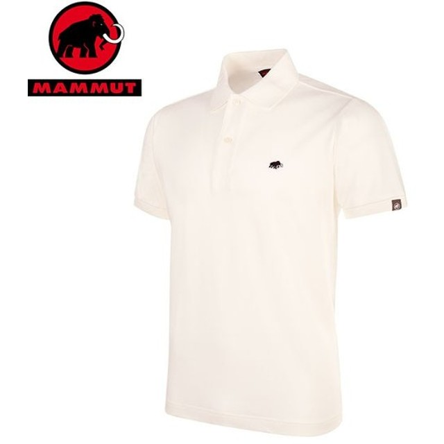 MAMMUT マムート MATRIX Polo Shirt Men メンズ 半袖シャツ 2019 SS (white):1017-00400