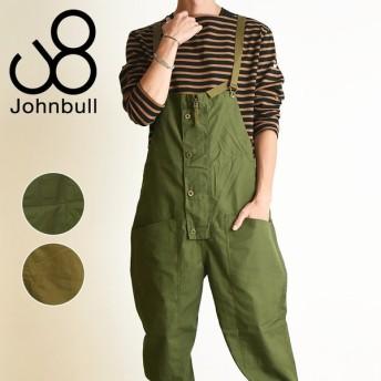 2019秋冬新作 裾上げ無料 ジョンブル Johnbull メンズ ワークオーバーオール サロペット 21336 アウトドア セットアップ