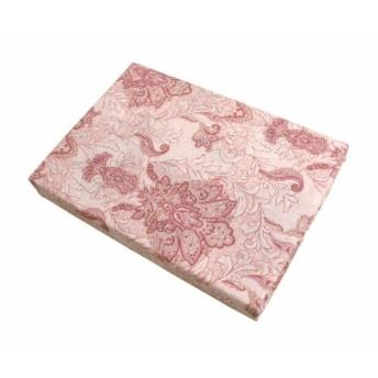 音部 敷きふとんカバー ピンク シングル(105x205cm) 肌触りが良く乾きやすい サラサ 28430PI