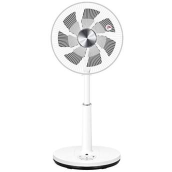 山善 DCリビング扇風機 リモコン付 メタリックシルバー YLX-ED303-MS