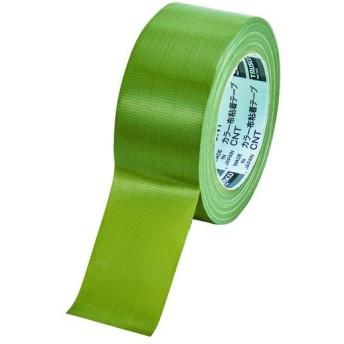 TRUSCO トラスコ中山 カラー布粘着テープ 幅50mm長さ25m オリーブドラブ [CNT-5025-OD]  CNT5025OD                      販売単位:1