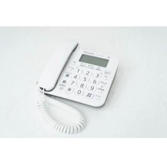 Panasonic パナソニック RU・RU・RU デジタルコードレス電話機 VE-GD24DL-W ホワイト増設子機 KX-FKD404【中古】【安心の90日保証】【佐川急便60サイズ】