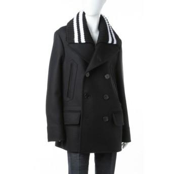 ジバンシー ジバンシィ GIVENCHY コート Pコート ピーコート レディース G17A0021 049 ブラック