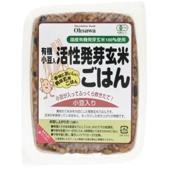 オーサワの有機小豆入り活性発芽玄米ごはん 160g - オーサワジャパン