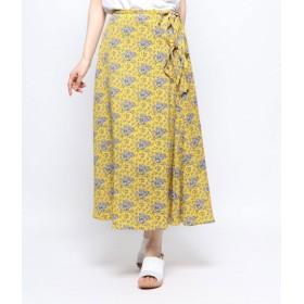 AULI(アウリィ)/ラップ風スカート
