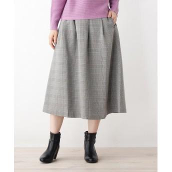 pink adobe(ピンクアドベ) 上品フレアスカート