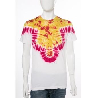 ディーゼル DIESEL Tシャツ 半袖 丸首 T-YE MAGLIETTA メンズ 00SPQZ 0PAJZ イエロー