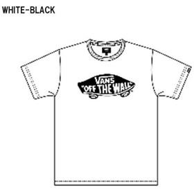 VANS バンズ メンズ 半袖 Tシャツ VANS-MT02A WHTBLK S