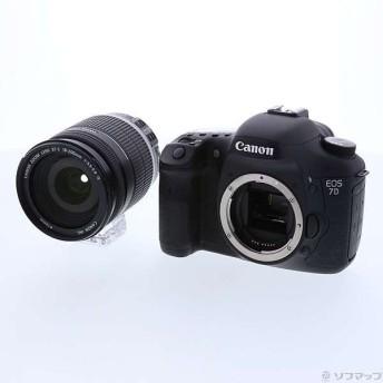〔中古〕Canon(キヤノン) EOS 7D EF-S 18-200 IS レンズキット (1800万画素/CF)〔09/15(日)新入荷〕
