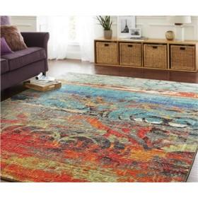 ラグ 160 ペルシャ 絨毯 風 ラグキッチンマット 250 120X160cm 北欧のモダンなミニマリストのリビングルームのコーヒーテーブルカーペットの寝室のベッドサイドの敷物ヨーロッパポリエステル素材