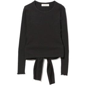 (レイビームス)Ray BEAMS/カットソー テレコ バック リボン Tシャツ レディース BLACK ONE SIZE