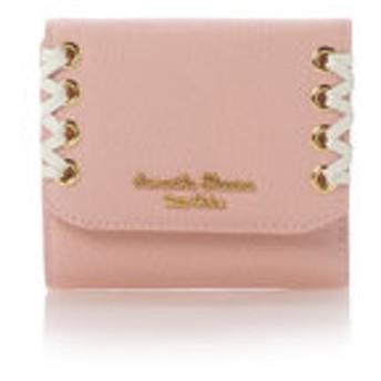 【Samantha Thavasa Petit Choice:財布/小物】かがりリボンシリーズ(折財布)