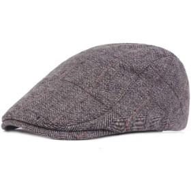 サマーベリー ハンチング 帽子 キャスケット メンズ 紳士 ハット 鳥打帽 キャップ カジュアルアウトドア活動で使用できます おしゃれ サイズ調整可能 アウトドア 旅行用紫外線対策 男女兼用(ライトグレー)