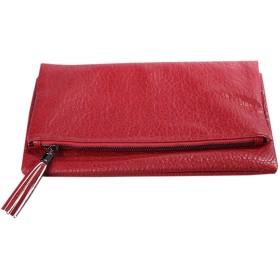 [韓国ブランド] Korea Brand韓国ファッション女性 スタイリッシュなSimple Foldingクラッチバッグ (Korea Fashion Women Stylish Simple Folding Clutch Bag) (レッド(Red)) [並行輸入品]