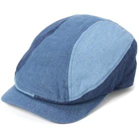 (キャバレロ) CABALLERO ハンチング帽 FRAGA インディゴ M/L 約59cm