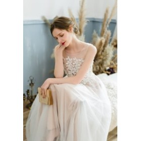 【大人気】ウェディングドレス 白 フラワー 二次会 花嫁 カラードレス 大きいサイズ ウェディング 白 ワンピース ドレス