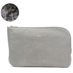 (GALLERIA/ギャレリア)アニアリ aniary マルチケース Antique Leather アンティークレザー 01-08004/ユニセックス ライトグレー