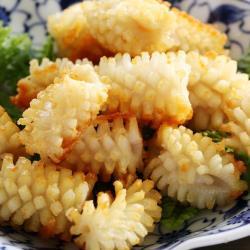 【上野物產】鮮脆刻花魷魚 x8包(250g土10%/包)