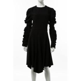 クロエ Chloe ワンピース ドレス 長袖 ブラック (CHC18WRO99137) 送料無料