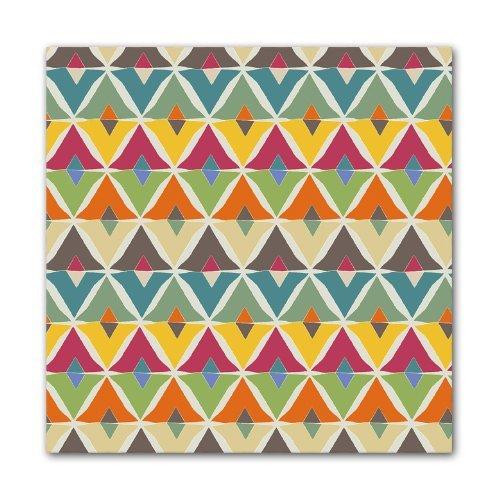 Kess InHouse JG1026AKP01 Julia Grifol My Diamond Art Clings 12-Inch x 12-Inch Square Sticker Wallpaper Decal