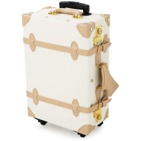 LOWYA スーツケース トランクケース TSAロック メッシュポケット Mサイズ アイボリー