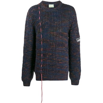 Aries ドローストリング セーター - ブルー