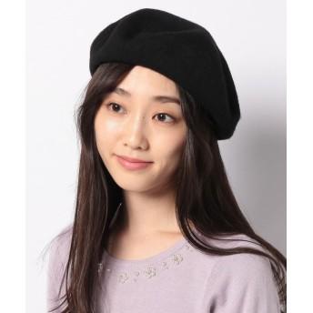 リランドチュール ベレー帽 レディース ブラック F 【Rirandture】