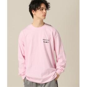 417 EDIFICE 【PULP】F.A.M.T. / エフ・エー・エム・ティー Notice me LS TEE ピンク XL