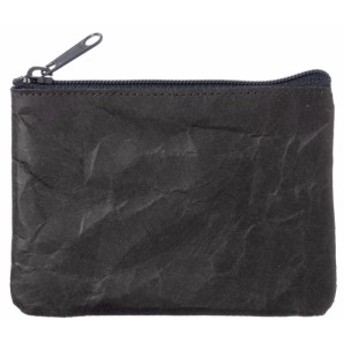 SIWA|紙和 コインケース wide ブラック 破れにくい紙・ナオロン製小銭入れ 山梨県の工芸品 Durable paper coin purse