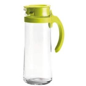 ピッチャー グラスコールドティーポット、ピッチャー、デカンタティー、コーヒー、レモネード、アイスティーポット ホットまたはコールド飲料用 (Color : Green)