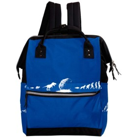 CHENYINAN リュックサック リュック 学生 レディース 動物柄 恐竜 進化 メンズ 大容量 マザーズバッグ がま口 バックパック 通勤通学 デイバッグ かわいい おしゃれ