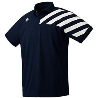 [デサント] ポロシャツ 吸汗速乾 ストレッチ UVケア DMMOJA70 メンズ NV M
