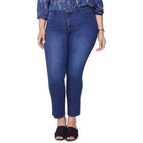 [エヌワイディージェイ] レディース カジュアルパンツ NYDJ Sheri Slim Jeans (Cooper) (Plus Siz [並行輸入品]