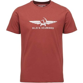 BlackDiamond(ブラックダイヤモンド) トップス Tシャツ Perestroika T-Shirt Brick メンズ [並行輸入品]