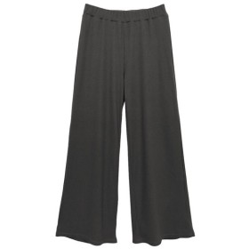 Re: EDIT 1枚でもレイヤードにも大活躍な優秀アイテム。 リブワイドレギンスパンツ ボトムス/パンツ/レギンス ブラック L レディース 5,000円(税抜)以上購入で送料無料 ワイドパンツ ガウチョ 夏 レディースファッション アパレル 通販 大きいサイズ コーデ 安い おしゃれ お洒落 20代 30代 40代 50代 女性 パンツ ズボン