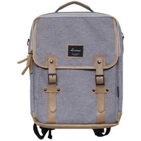 [韓国ブランド] Korea Brand 韓国ファッション Casual Normalバックパック バッグ (Korea Fashion Casual Normal Backpack Bag) (グレー(Grey)) [並行輸入品]