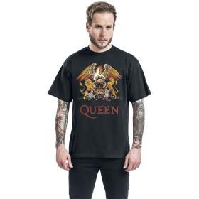 CCOMFO クイーン QUEEN バンドTシャツ ロックTシャツ メンズ/レディース Tシャツ/夏服 スポーツ Tシャツ ブラック/半袖 Tシャ