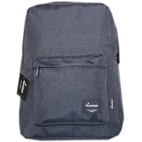 [韓国ブランド] Korea Brand 韓国ファッション 男性 スクエアシンプルバックパック バッグ (Korea Fashion Men's Square Simple Backpack Bag) (黒 (Black)) [並行輸入品]