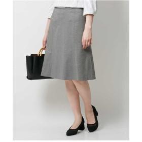 OFUON 【セットアップ対応/洗える】ライトポンチスカート その他 スカート,ダークグレー