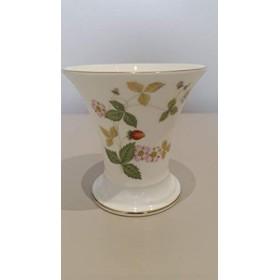 ウェッジウッドWldストロベリーポシー花瓶3.5