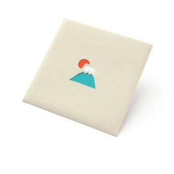 【切り絵のぽち袋】 富士山(大サイズ)2枚入り