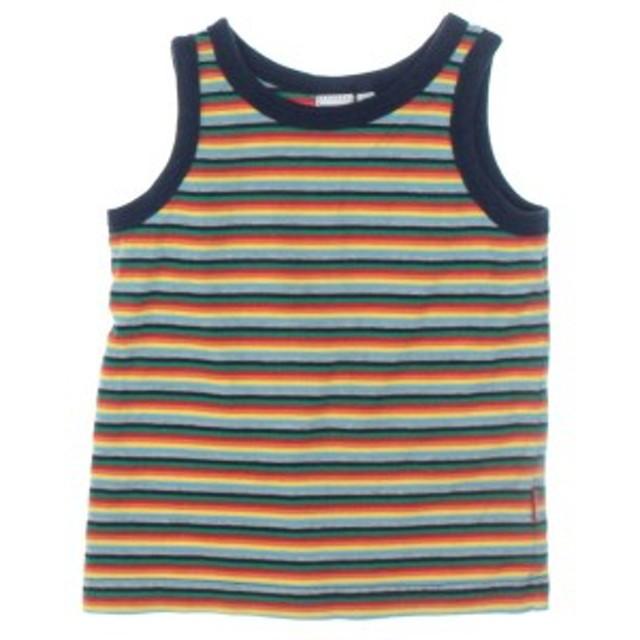 SHIPS KIDS  / シップス キッズ Tシャツ・カットソー 色:赤xオレンジx緑等(ボーダー) サイズ:-