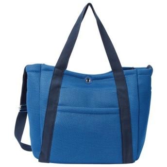 60%OFF通勤にもジムにも!ポーチ付き軽量バッグ - セシール ■カラー:ブルー