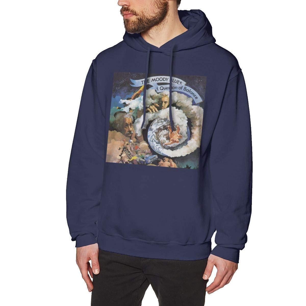 Mooy Mens Design The Weekend Hoodies Navy
