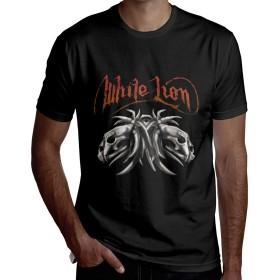 ホワイト・ライオン White Lion Tシャツ メンズ 半袖 おしゃれ 大きいサイズ インナー 春 夏 ゆったり カジュアル プルオーバー