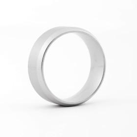 JFSG Enterprises LLCメンズスチールリング結婚指輪8mm Brushed Top